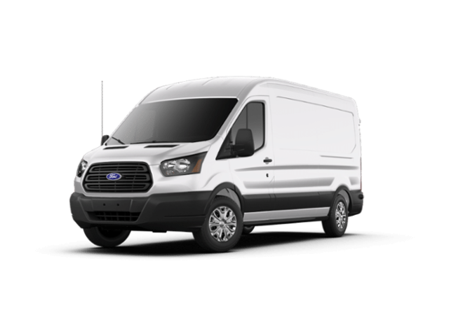 2019 Ford Transit Commercial CHARCOAL CLOTH Van Medium Roof Cargo Van RWD